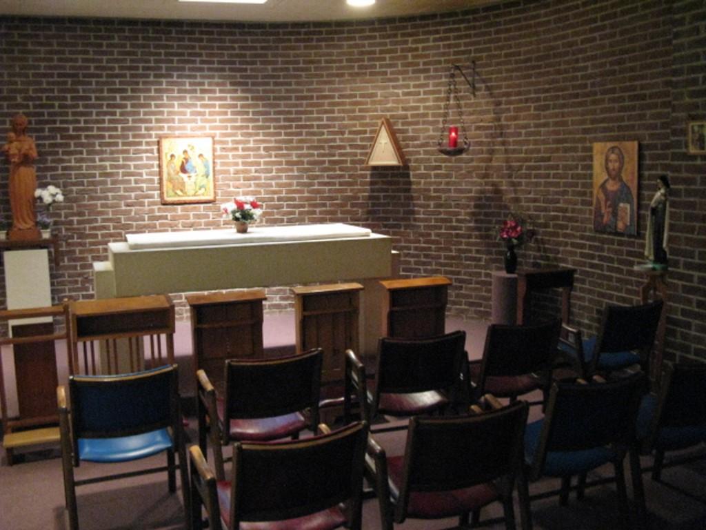 Quatre règles incontournables à suivre pour ceux qui sont appelés à construire des Refuges ! Chapel12