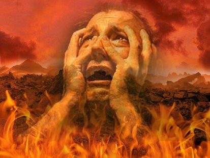 JOHN LEARY : Messages du Ciel se rapportant aux Refuges du Seigneur ! - Page 9 Enfer12