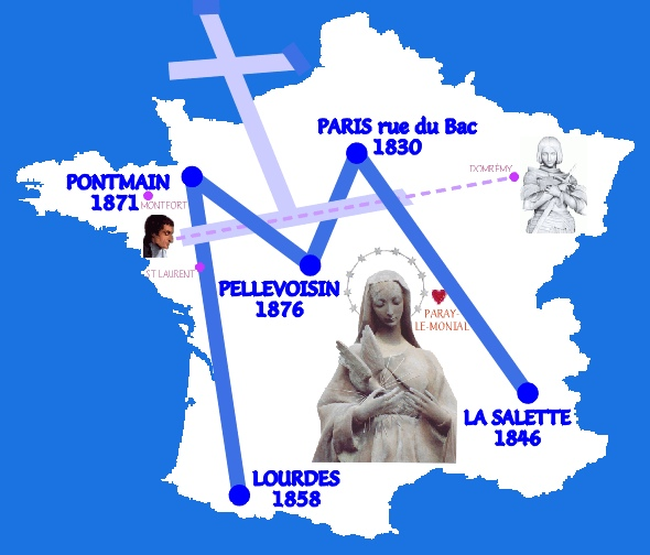 LES REFUGES : Lieux d'Apparitions de Marie (et de Jésus) France11