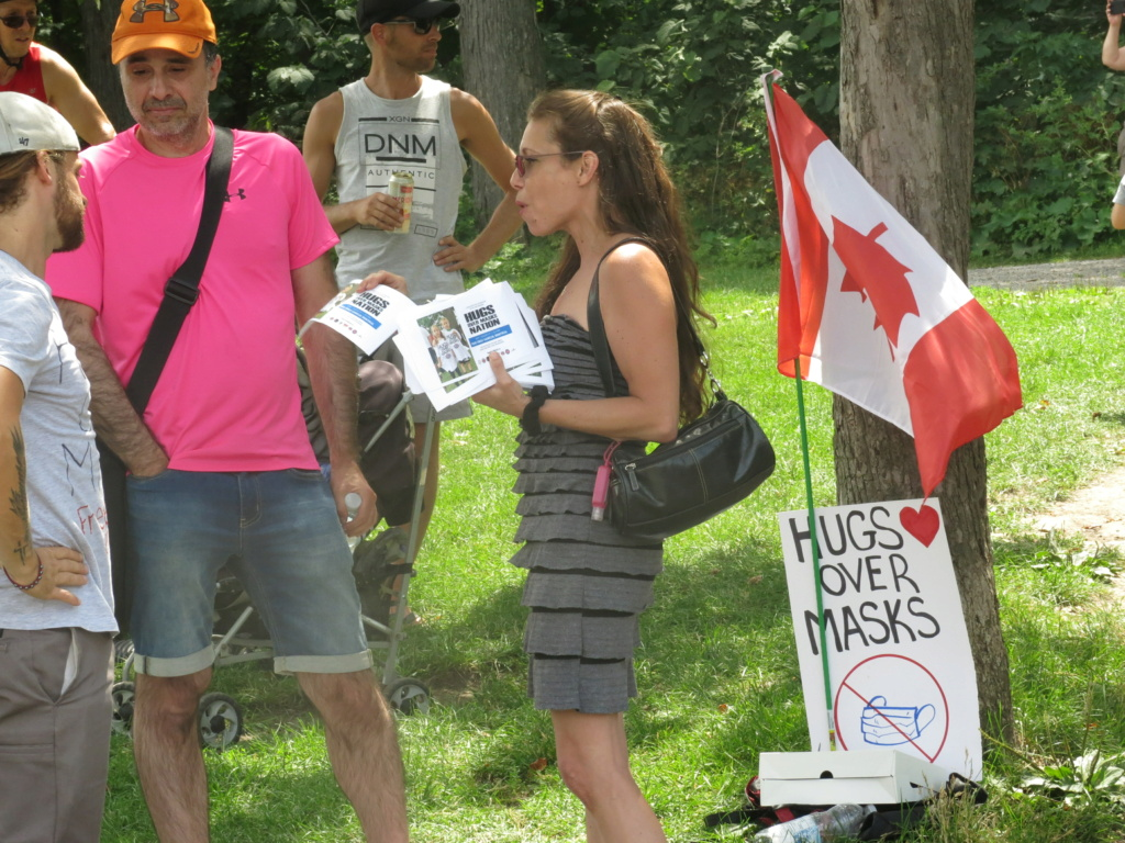 MONTRÉAL - Monument George-Étienne Cartier - Reportage-photos du Rassemblement pour nos Droits ! Img_2731