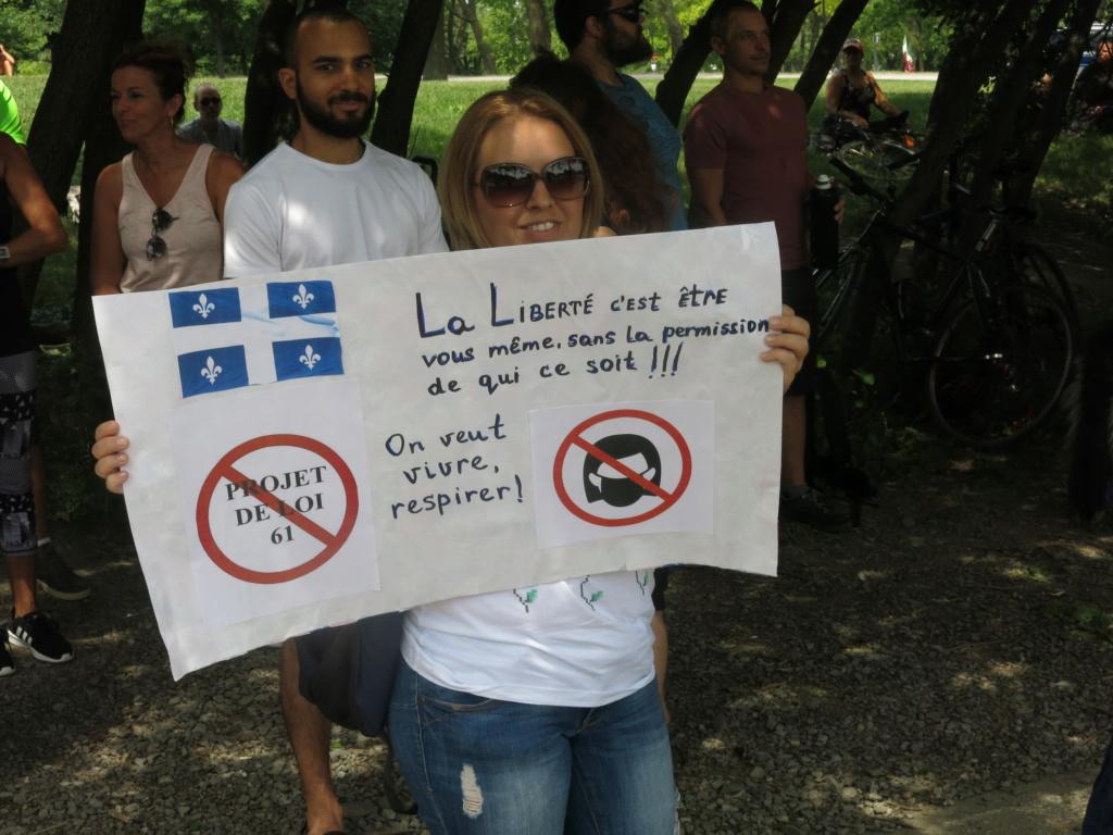 MONTRÉAL - Monument George-Étienne Cartier - Reportage-photos du Rassemblement pour nos Droits ! Img_2733