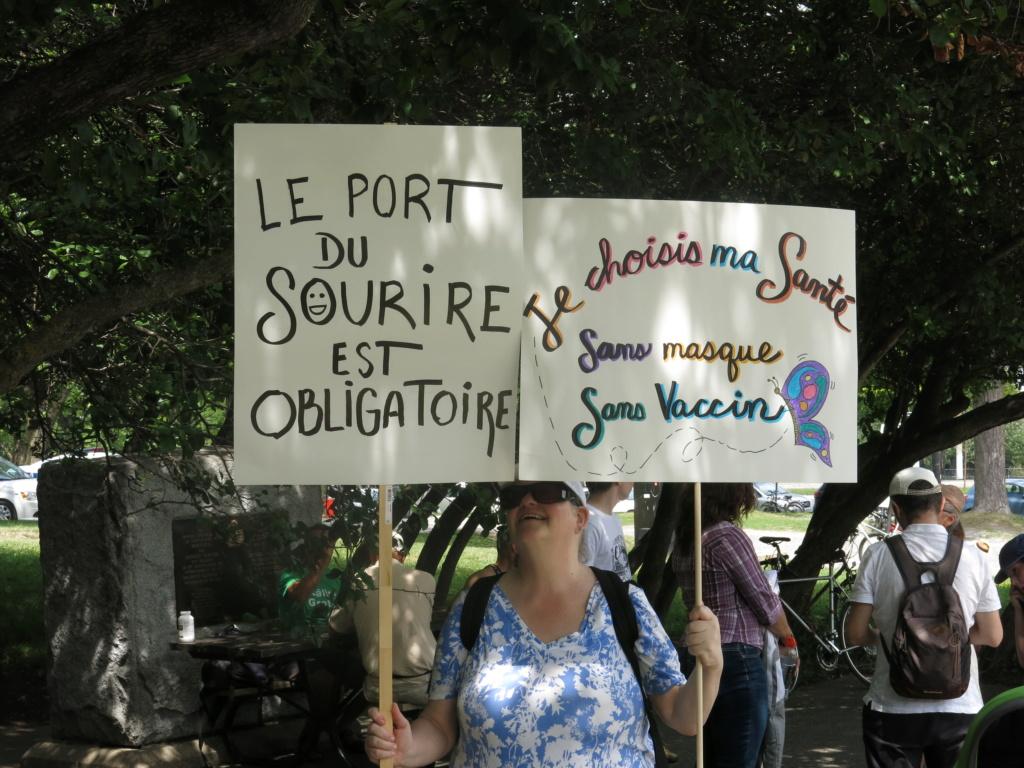 MONTRÉAL - Monument George-Étienne Cartier - Reportage-photos du Rassemblement pour nos Droits ! Img_2734