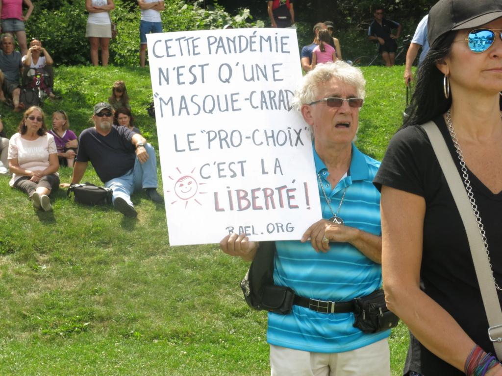 MONTRÉAL - Monument George-Étienne Cartier - Reportage-photos du Rassemblement pour nos Droits ! Img_2747