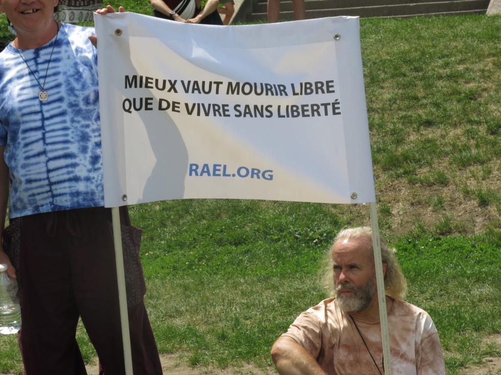 MONTRÉAL - Monument George-Étienne Cartier - Reportage-photos du Rassemblement pour nos Droits ! Img_2751