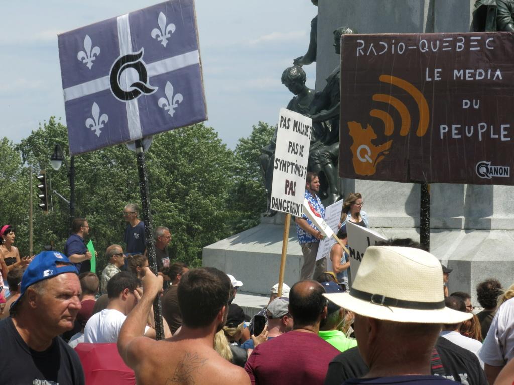 MONTRÉAL - Monument George-Étienne Cartier - Reportage-photos du Rassemblement pour nos Droits ! Img_2753