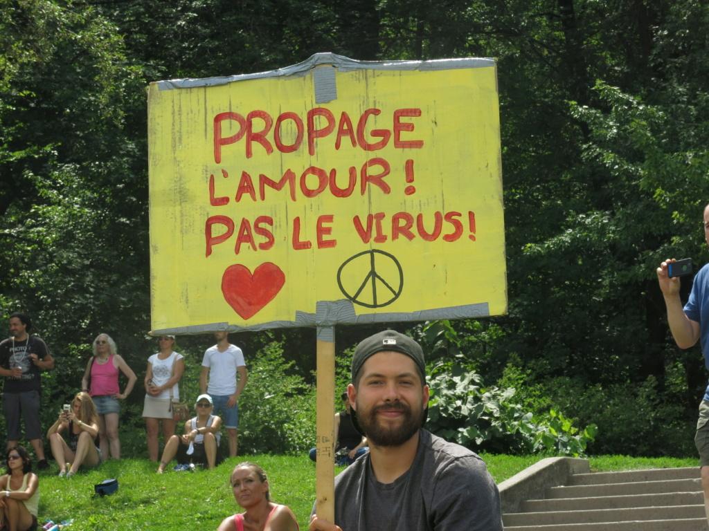 MONTRÉAL - Monument George-Étienne Cartier - Reportage-photos du Rassemblement pour nos Droits ! Img_2754