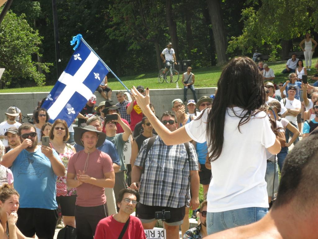 MONTRÉAL - Monument George-Étienne Cartier - Reportage-photos du Rassemblement pour nos Droits ! Img_2761