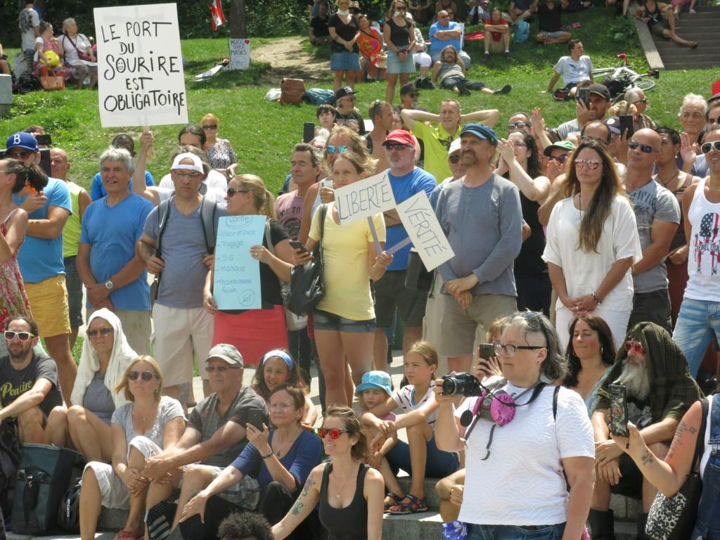 MONTRÉAL - Monument George-Étienne Cartier - Reportage-photos du Rassemblement pour nos Droits ! Img_2763