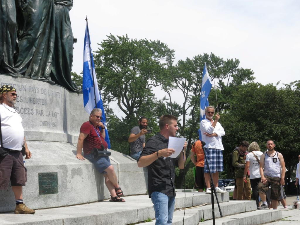 MONTRÉAL - Monument George-Étienne Cartier - Reportage-photos du Rassemblement pour nos Droits ! Img_2771