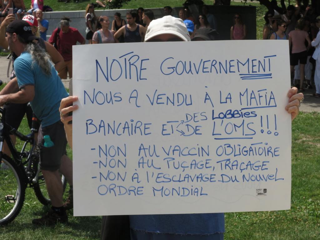 MONTRÉAL - Monument George-Étienne Cartier - Reportage-photos du Rassemblement pour nos Droits ! Img_2780