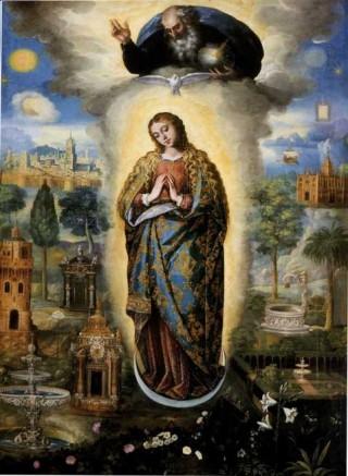 JNSR, ANNE CATHERINE EMMERICH ET MARIE D'AGREDA : SUR LA DIVINE IMMACULÉE CONCEPTION DE MARIE ! Immacu10