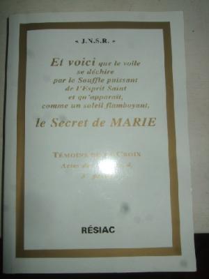JNSR, ANNE CATHERINE EMMERICH ET MARIE D'AGREDA : SUR LA DIVINE IMMACULÉE CONCEPTION DE MARIE ! Md217610