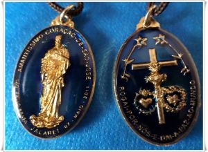 Notre Dame du Rosaire et de la Paix à Edson 14 Mars 2020 Saint Joseph fera pour la Sainte Église et  Medalh10
