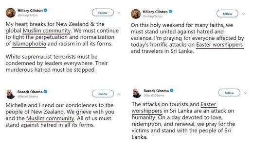 """SRI LANKA : Obama et Clinton refusent d'utiliser le mot """"Chrétiens"""" pour parler des victimes ! Ob_1e210"""