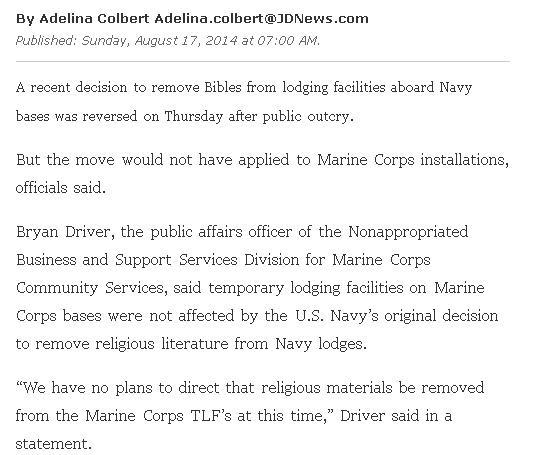 Censure : Retrait des Bibles des bases militaires américaines ! Ob_51610