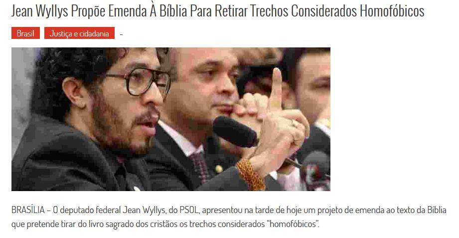 Censure : Au Brésil, un député a déposé un amendement pour retirer des versets de la Bible ! Ob_8d310