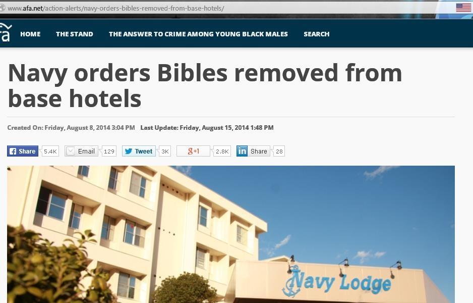 Censure : Retrait des Bibles des bases militaires américaines ! Ob_96910