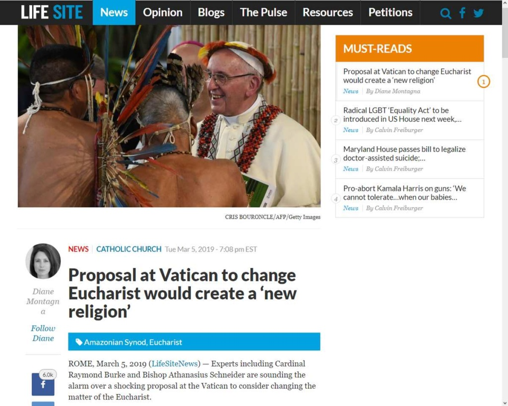 """Changer """"la matière de l'Eucharistie"""" annonce-t-il l'introduction de la Nouvelle Religion Mondiale ? Ob_bcb11"""