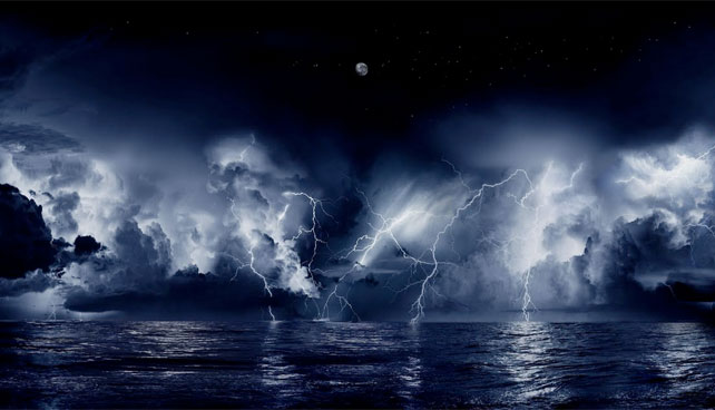 CARBOBIA - Un soir qu'il fera froid et sombre, vous verrez des éclairs tomber du ciel ! Orage-11