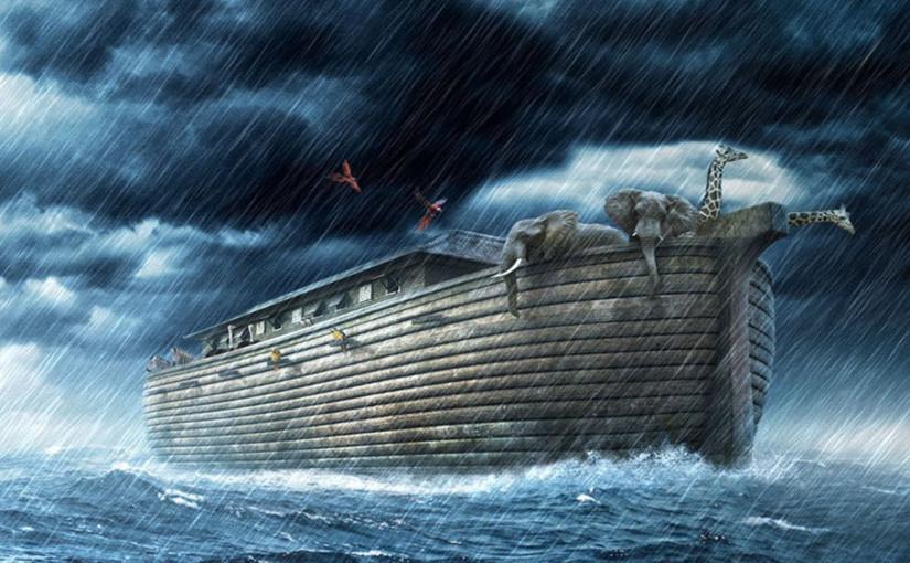 MAUREEN DU SAINT AMOUR - Noé ne connaissait pas la date du Déluge, mais s'y préparait... ! Pictur11