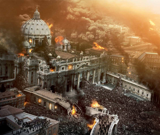 Prophéties diverses sur la Destruction de Rome - La Destruction du Vatican ! Rome_c10