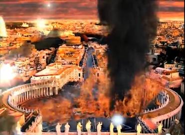 CARBONIA - Les ennemis sont sur le point d'entrer au Vatican, le temple sera déchiré et, tout s'effo Romede10