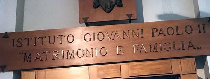 L'Institut Jean-Paul II de Rome et sa liquéfaction par le Pape François ! Sans-171