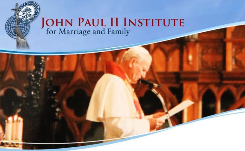 L'Institut Jean-Paul II de Rome et sa liquéfaction par le Pape François ! Sans-180