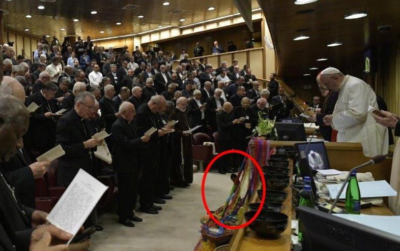 SYNODE AMAZONIEN - (SUITE D'AMORIS LAETITIA) : Nous conduira-t-il au Schisme de l'Église Catholique? - Page 15 Sans-187