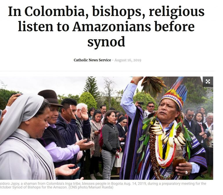 SYNODE AMAZONIEN - (SUITE D'AMORIS LAETITIA) : Nous conduira-t-il au Schisme de l'Église Catholique? - Page 9 Sans-206