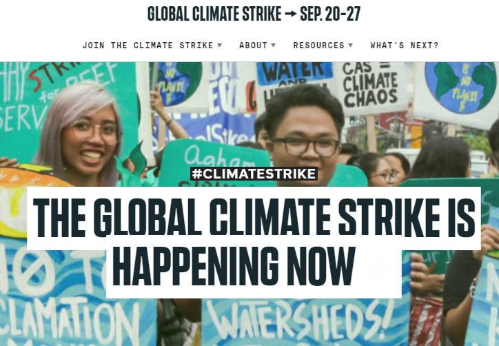 """L'inquiétante """"Global Strike for Climate"""" et """"Greta la Folle"""" ! Sans-246"""