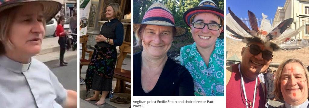 """SANS SURPRISE : La """"Prêtresse"""" du Synode est une lesbienne ayant contracté un pseudo-mariage ! Sans-296"""