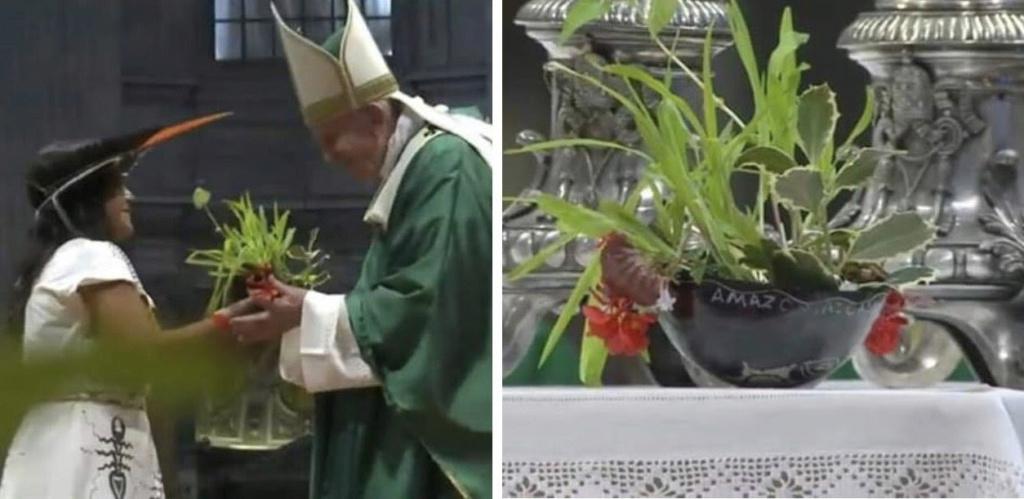 SONDAGE : Rituel écologique païen dans les Jardins du Vatican sous les yeux du Pape François ! - Page 4 Sans-309