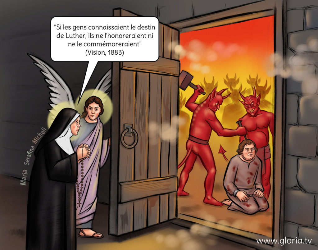 « Luther est en Enfer », nous disent des Révélations Privées ! Sans-314