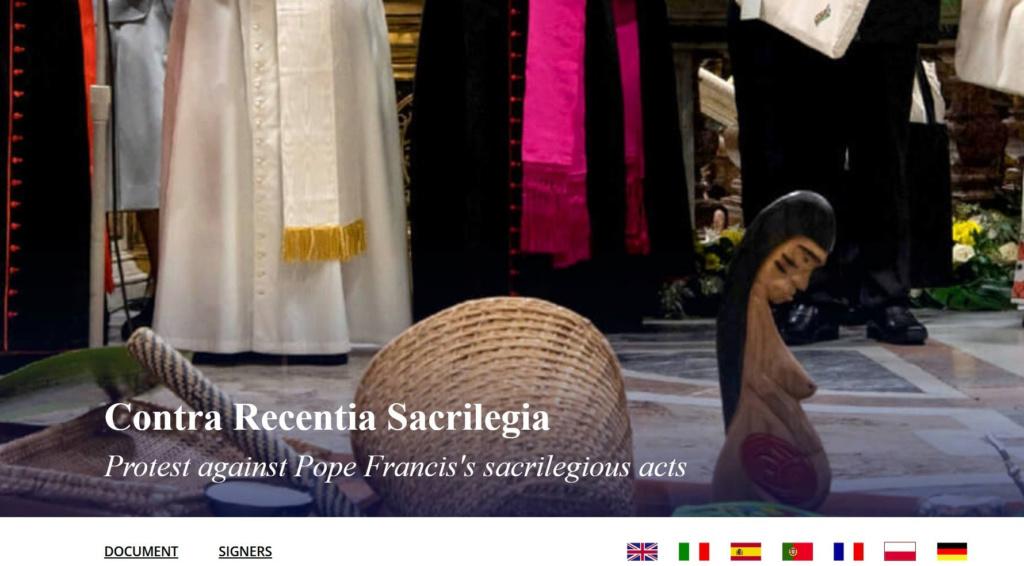 Protestation contre les actes sacrilèges du Pape François Sans-328