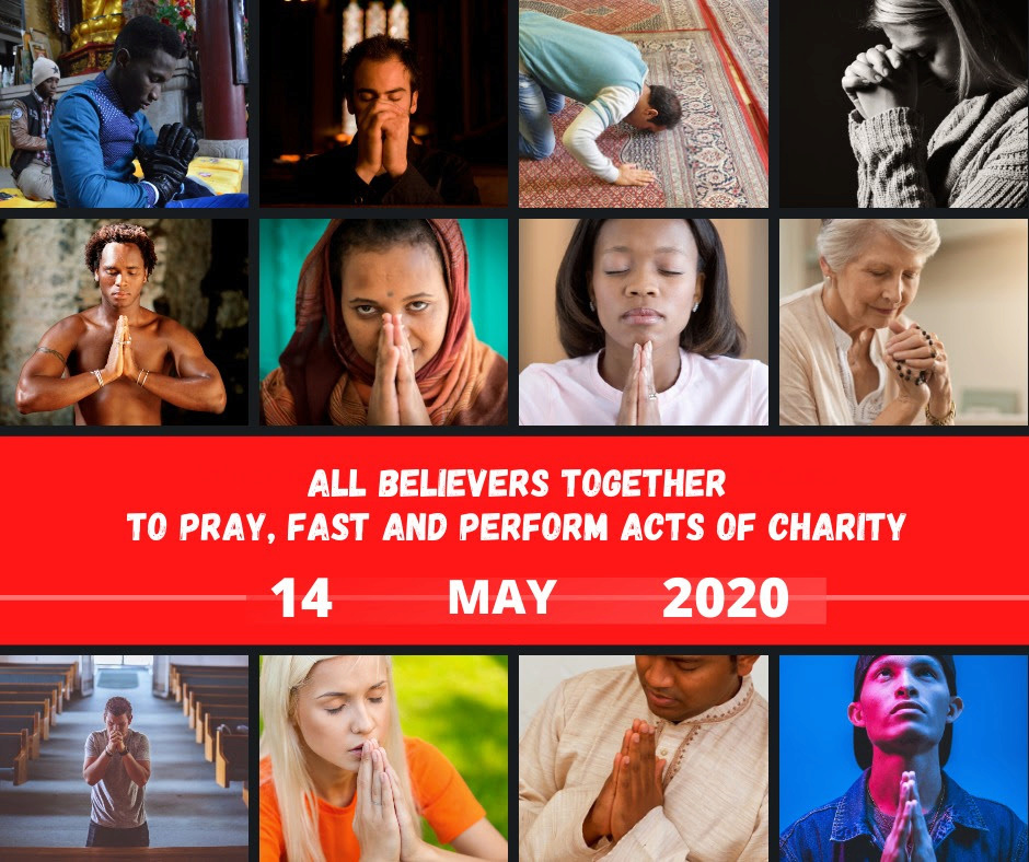 RELIGION MONDIALE : Un appel interreligieux pour une Journée de Jeûne et de Prière ! Sans-372