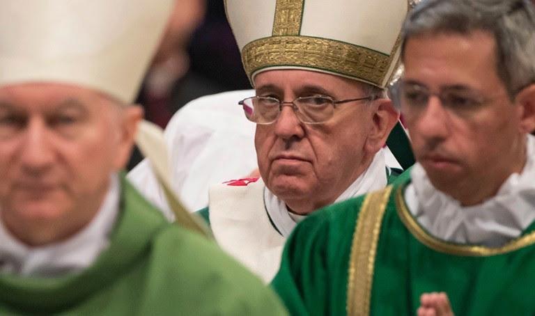 SYNODE AMAZONIEN - (SUITE D'AMORIS LAETITIA) : Nous conduira-t-il au Schisme de l'Église Catholique? Sans-t32