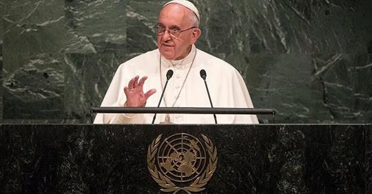 PAPE FRANÇOIS : Il invite les responsables religieux et politiques à signer le Pacte Mondial... Sans-t95