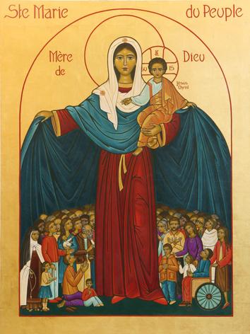 Jésus et la Reine du Rosaire et de la Paix à Edson 31 Juillet et 3 Août 2019 des temps de douleur et Ste-ma10