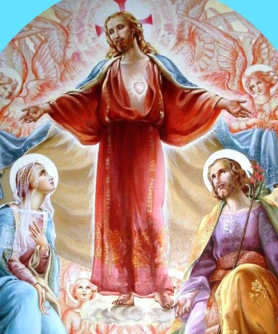 Le Père Ghislain Roy nous a fortement recommandé de se consacrer aux Coeurs de Jésus, Marie et Josep Unnam211