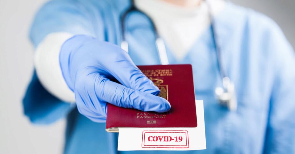 LE PASSEPORT VACCINAL : Un passeport de liberté ou de détention... ? Unnam314