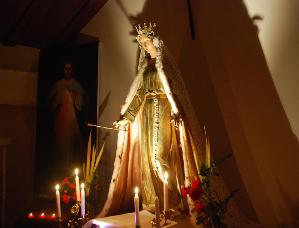 Dans les Refuges, faites introniser Marie Reine Immaculée de l'Univers pour votre sécurité ! Unnam682