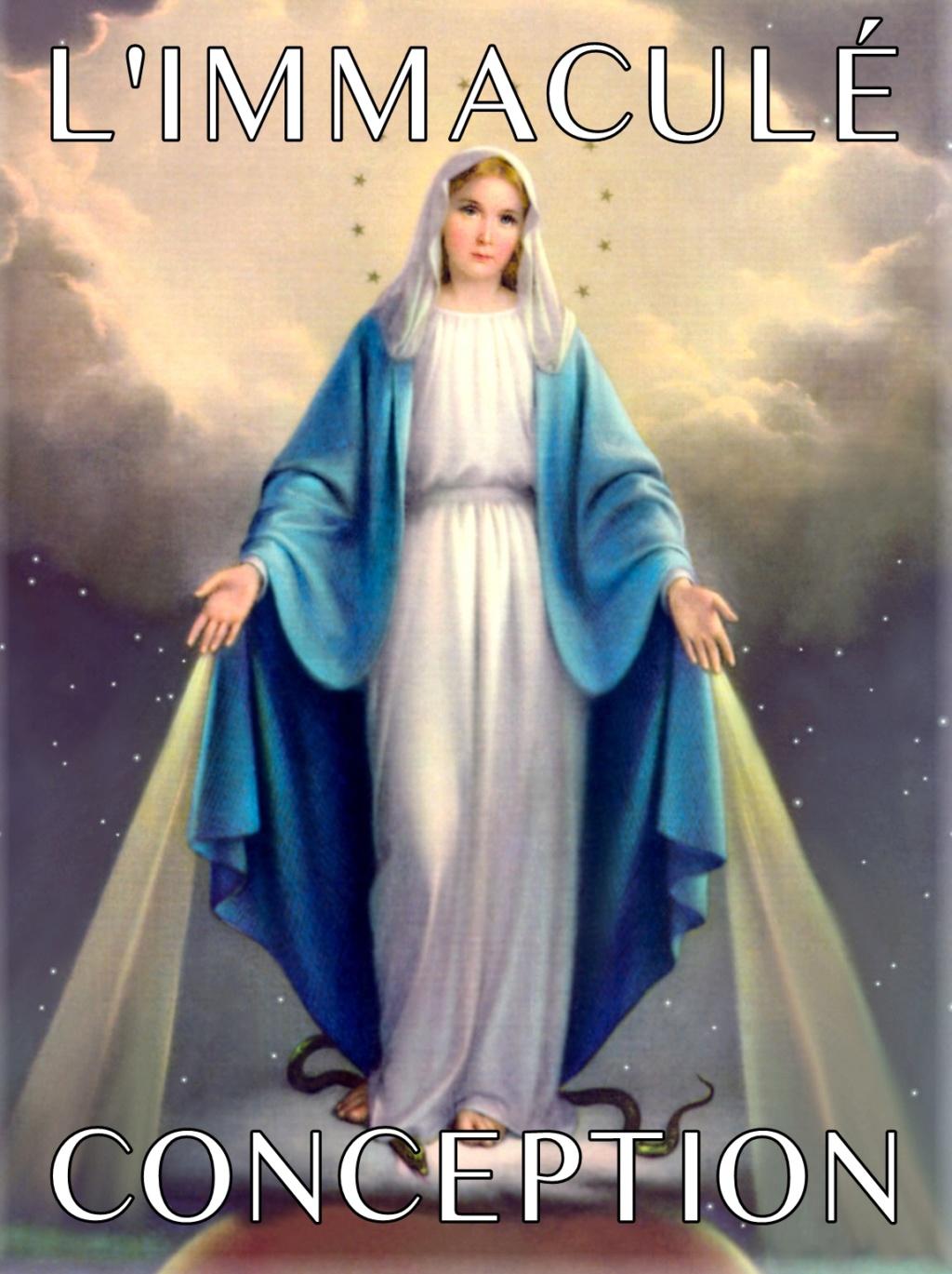 JNSR, ANNE CATHERINE EMMERICH ET MARIE D'AGREDA : SUR LA DIVINE IMMACULÉE CONCEPTION DE MARIE ! Vm-ic10