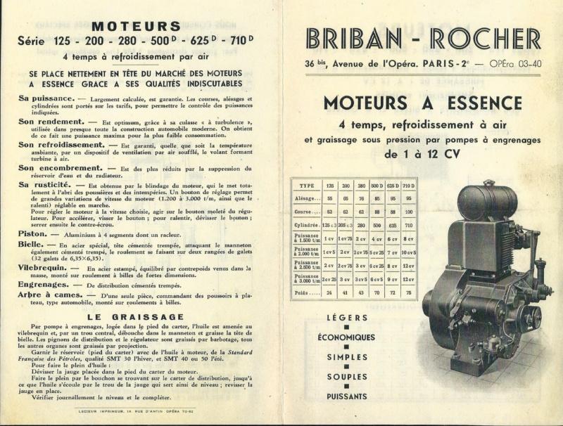 moteur - Moteur Briban Rocher 122