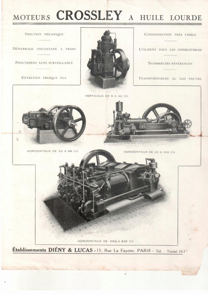 moteur - Moteur Crossley  16111210
