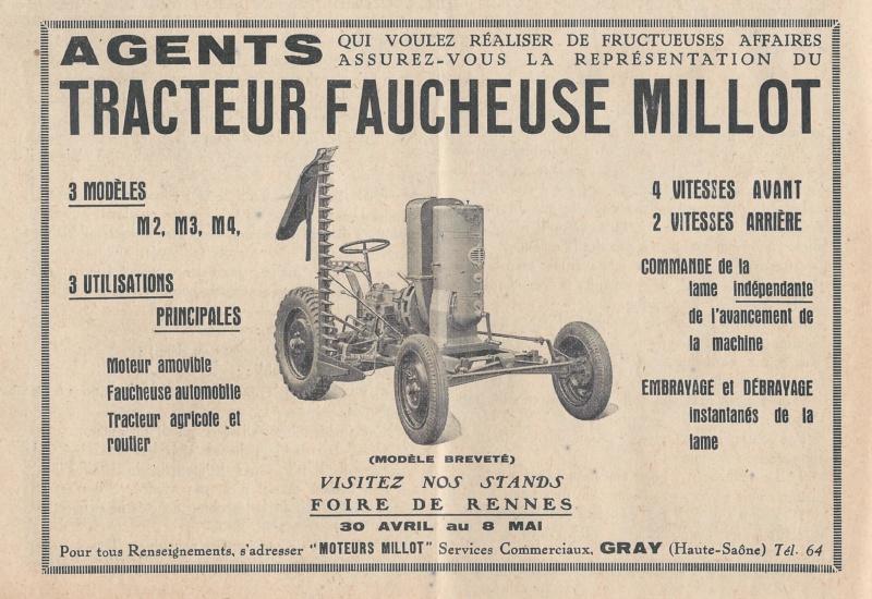 Tracteurs Millot 193810