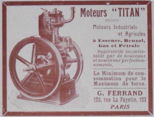 moteur - Bonjour Breton et rénovation moteur Titan Captu311