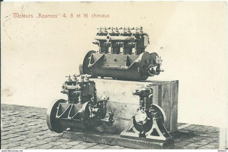 moteur - Cartes postales anciennes (partie 2) - Page 8 Kosmos10