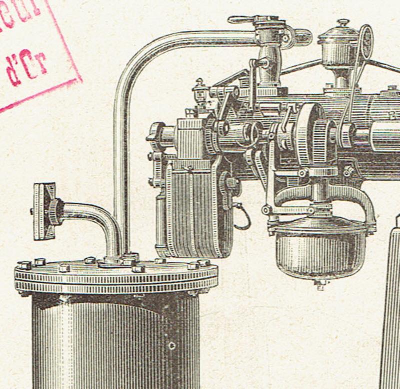 Moteur de fortification : le Fétu-Defize de Loncin.  - Page 9 Moteur40