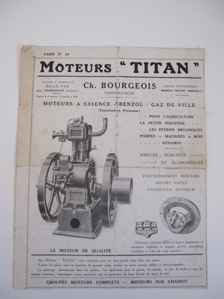 moteur - Bonjour Breton et rénovation moteur Titan Titan10